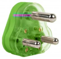 COLOURS 16A HOLLOW PIN PLUG TOP