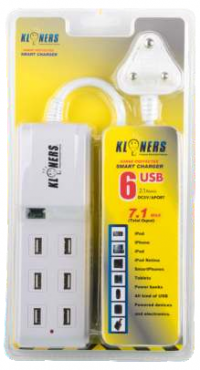 6 USB CHARGER